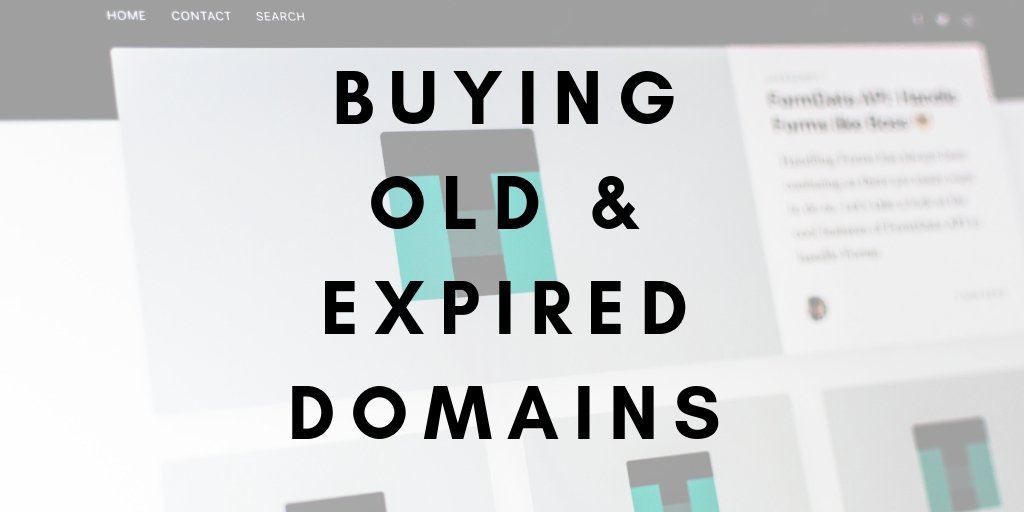 Buying Expired Domains for SEO