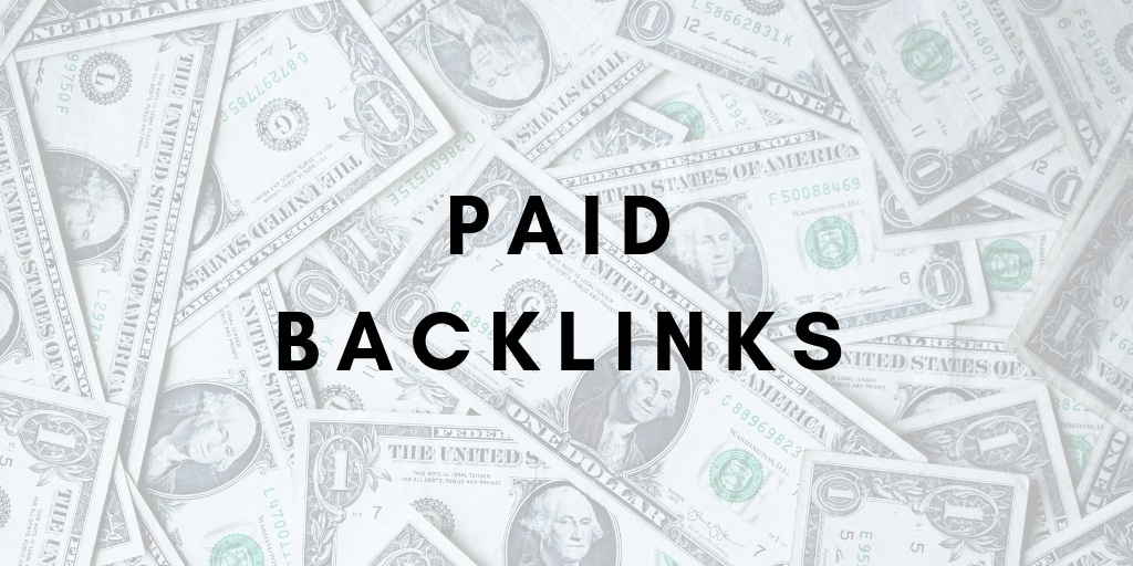 Paid SEO Backlinks