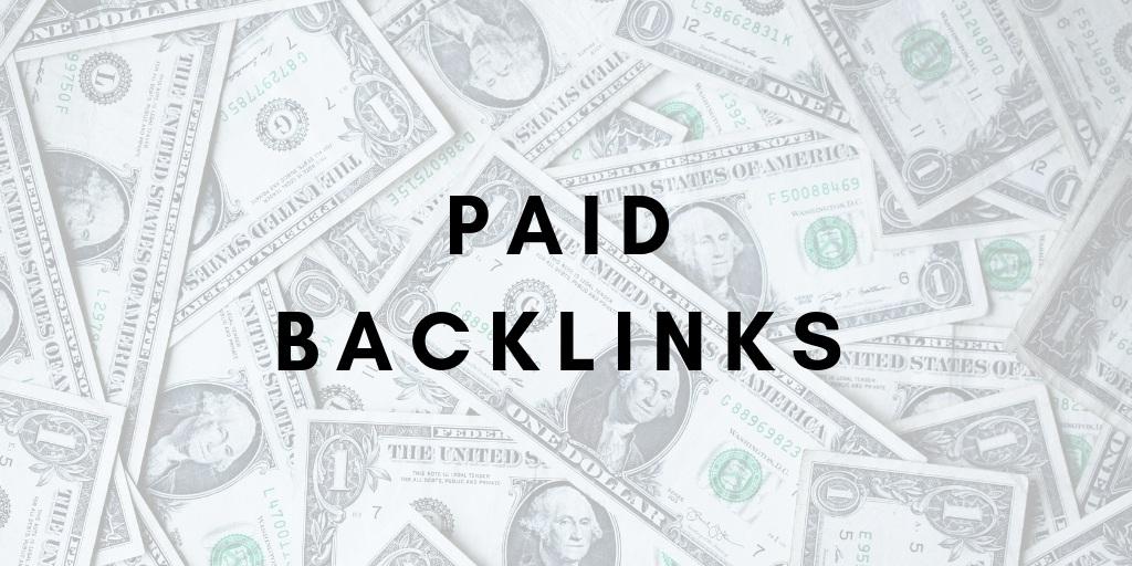 Paid SEO Backlinks