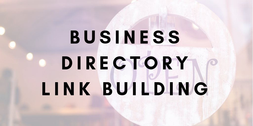 Business Directory Link Building
