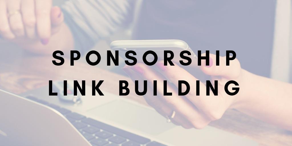Sponsorship Link Building