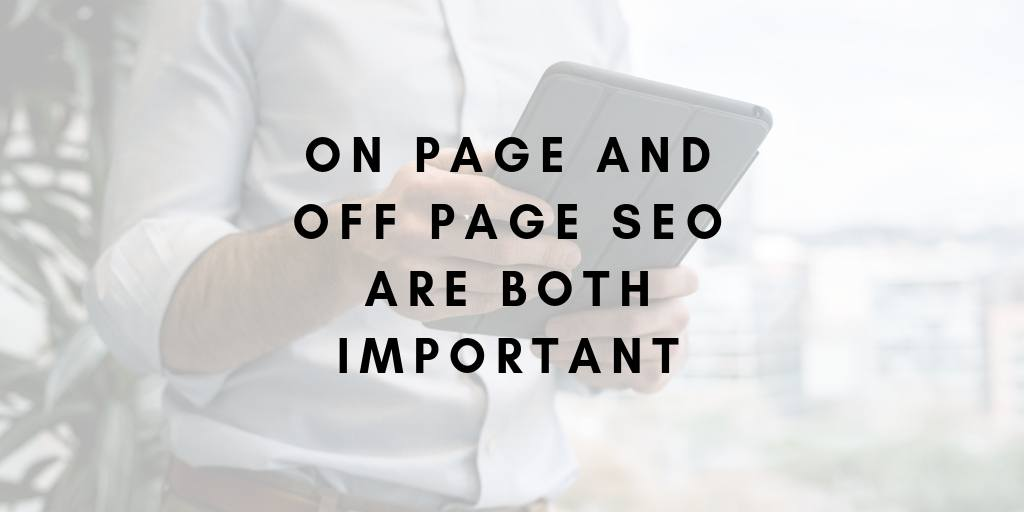 Importance of On Page and Off Page SEO